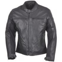 Bunda na motorku Ayrton Classic Leather černá 1d8794c6715