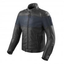Bunda na motorku Revit Nova Vintage černo-modrá abb63b7b5c