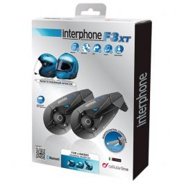 CellularLine Interphone F3XT Bluetooth-2 sady v balení