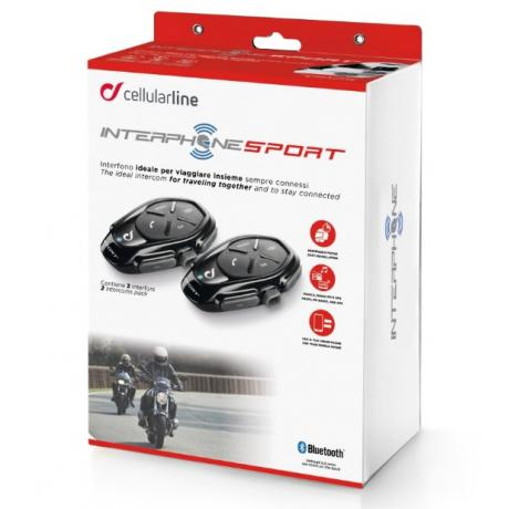 CellularLine Interphone Sport Twin Pack