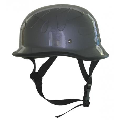 Chopper helma Braincap-HR-23 šedivá