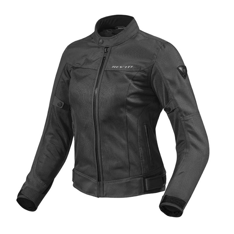 37967012548 Dámská bunda na motorku Revit Eclipse černá