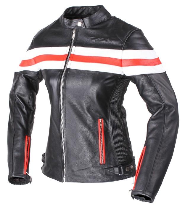 e0a4ad83f9b Dámská kožená bunda na motorku RSA Lines výprodej