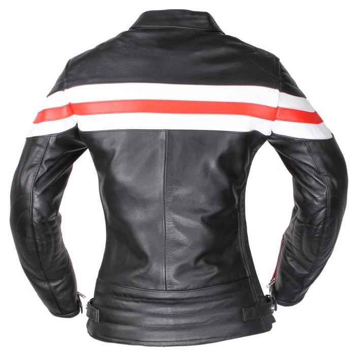 114f115d988 ... Dámská kožená bunda na motorku RSA Lines výprodej