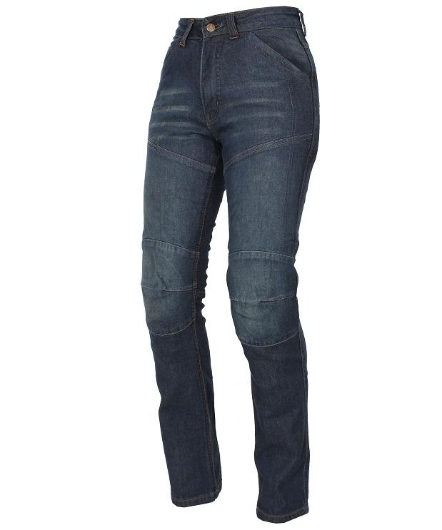 7ce2a68a298 Dámské jeansy na motorku Roleff Jeans modré