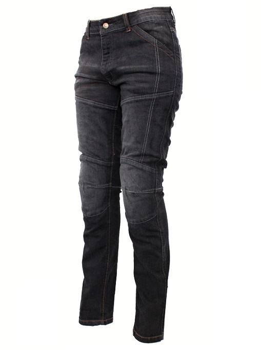 6416156a57d Dámské kevlarové jeansy na motorku Roleff Jeans černé
