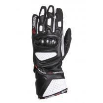 40ef84474e1 Dámské rukavice na motorku RSA RX-1 černo-bílé