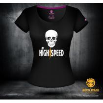 5141f524c487 Dámské triko Devils Wear - High Speed výprodej