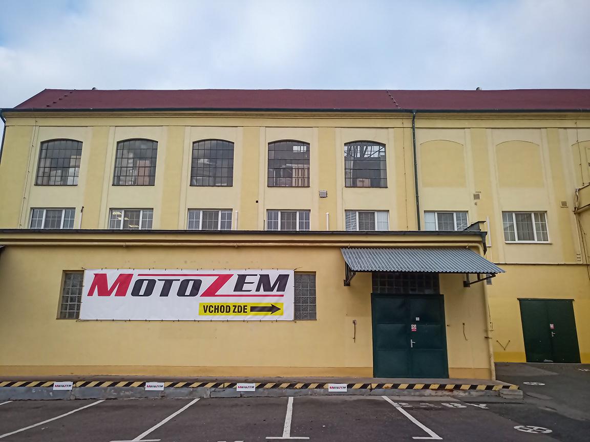Prodejna Motozem Brno Modřice