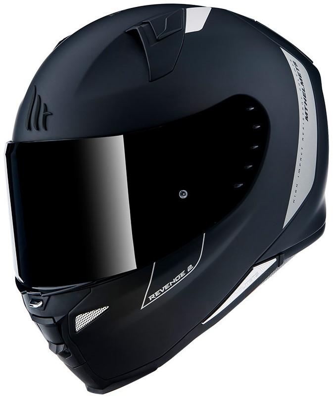 Integrální přilba na motorku MT Revenge 2 Solid černá matná