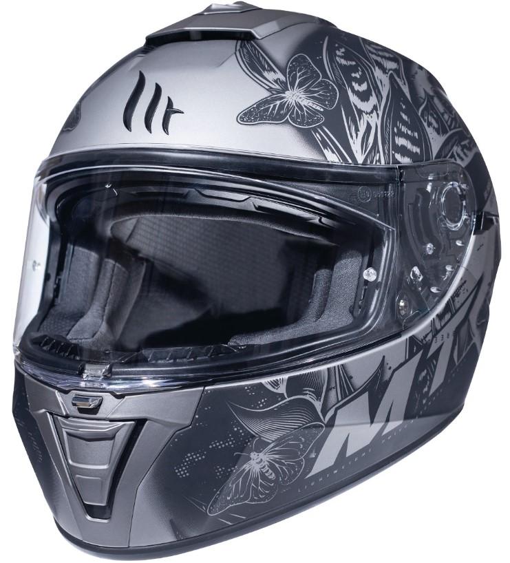Integrální přilba na motorku MT Blade 2 SV Breeze šedá matná - II. jakost