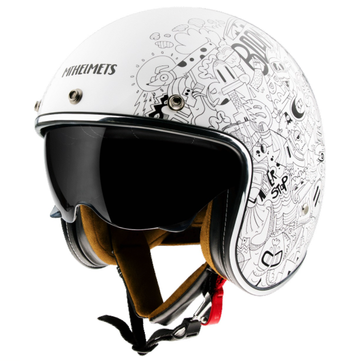 Otevřená přilba na motorku MT LeMans 2 SV Extreme bílá