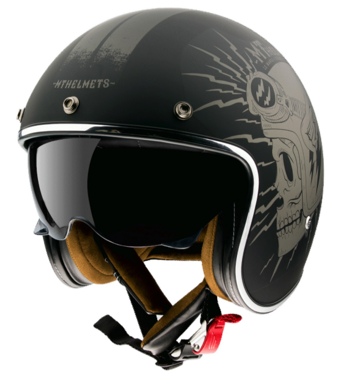 Otevřená přilba na motorku MT LeMans 2 SV Diler černá