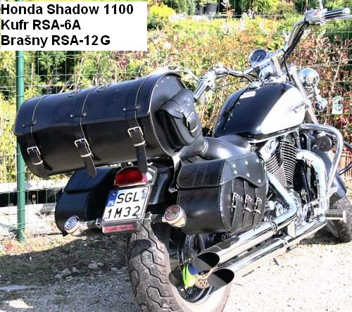 Kožené brašny na motorku Chopper RSA-12G