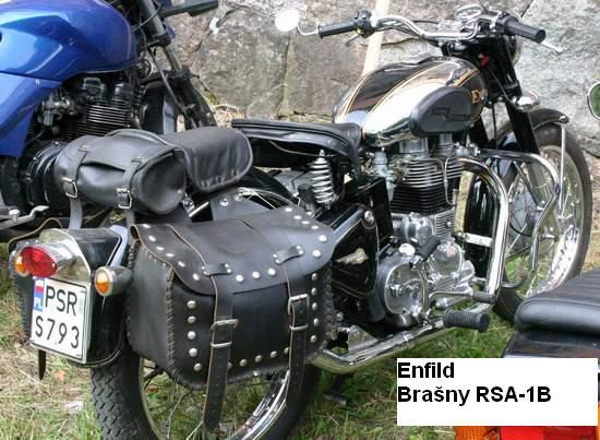 Kožené brašny na motorku Chopper RSA-1B