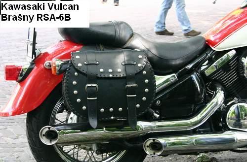 Kožené brašny na motorku Chopper RSA-6B