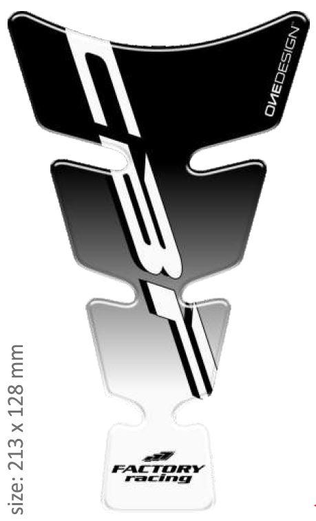 Polep palivové nádrže Print - Spirit 11 černý
