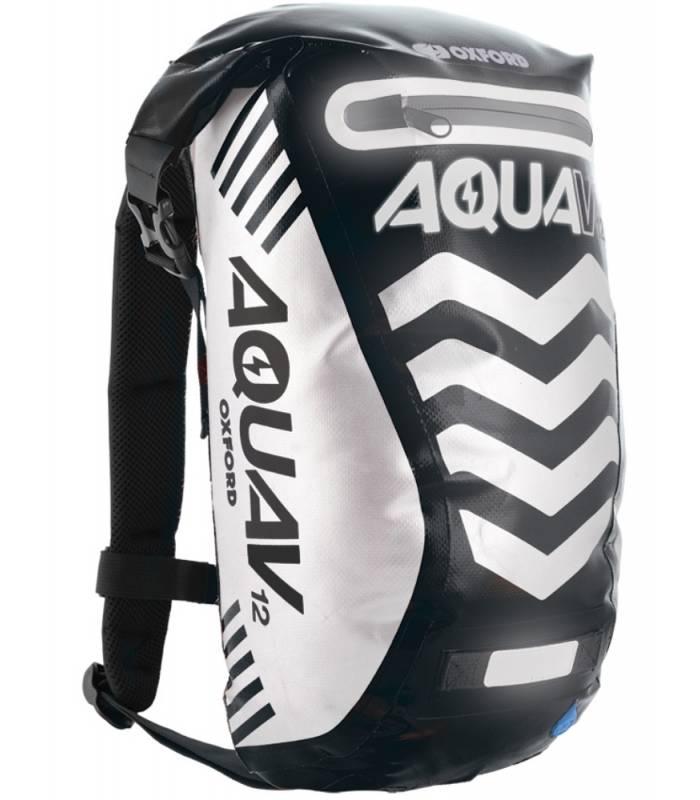 Vodotěsný batoh Oxford Aqua V12 Extreme Visibility černý