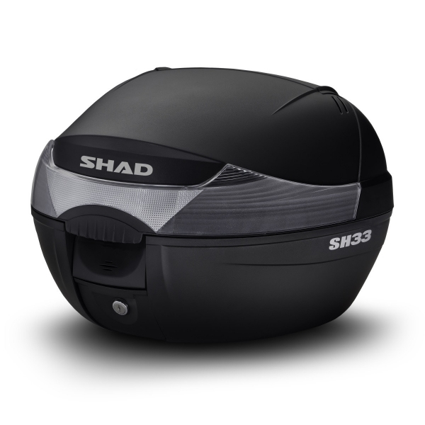 Vrchní kufr Shad SH33 černý