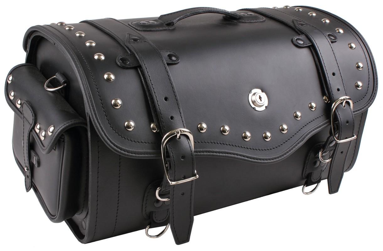 Kožený kufr na motorku RSA Extra