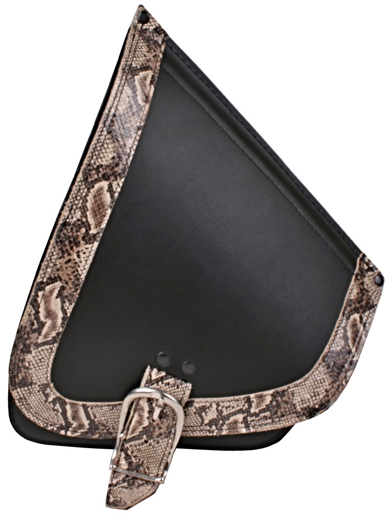 Kožená brašna RSA Serpent na motorku HD Softail