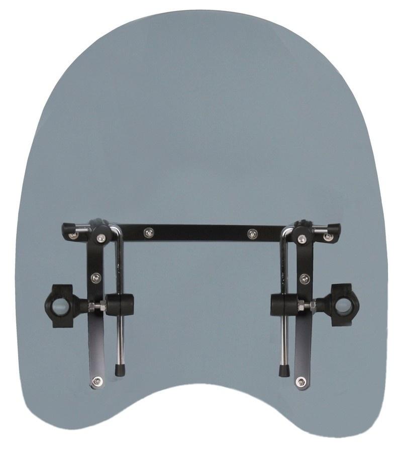 Plexi na motorku R-TECH Universal B - tmavé