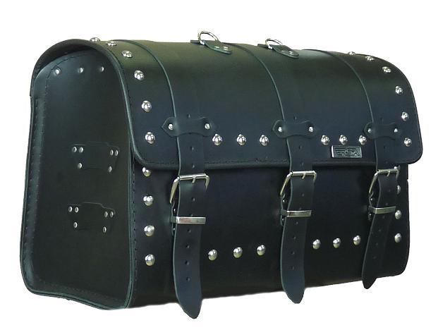 Kožený moto kufr na motorku Chopper RSA-17B