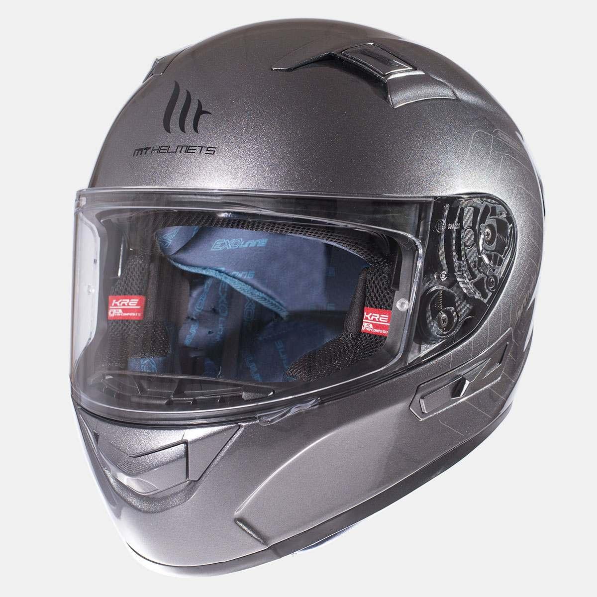 Integrální přilba na motorku MT Kre SV Titanium