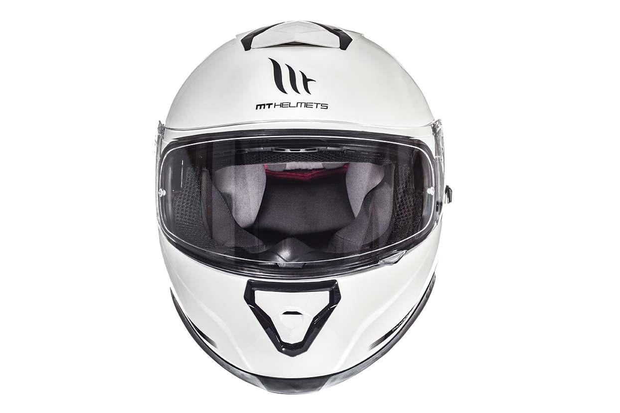 Integrální přilba na motorku MT Thunder 3 SV bílá