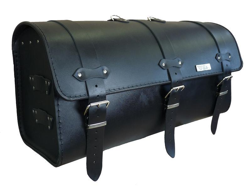 Kožený moto kufr na motorku Chopper RSA-14A