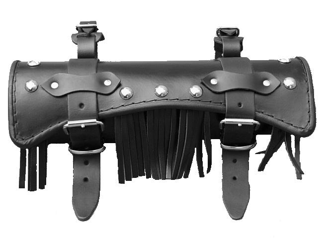 Kožená rolka na motorku Chopper/Custom RSA-8C