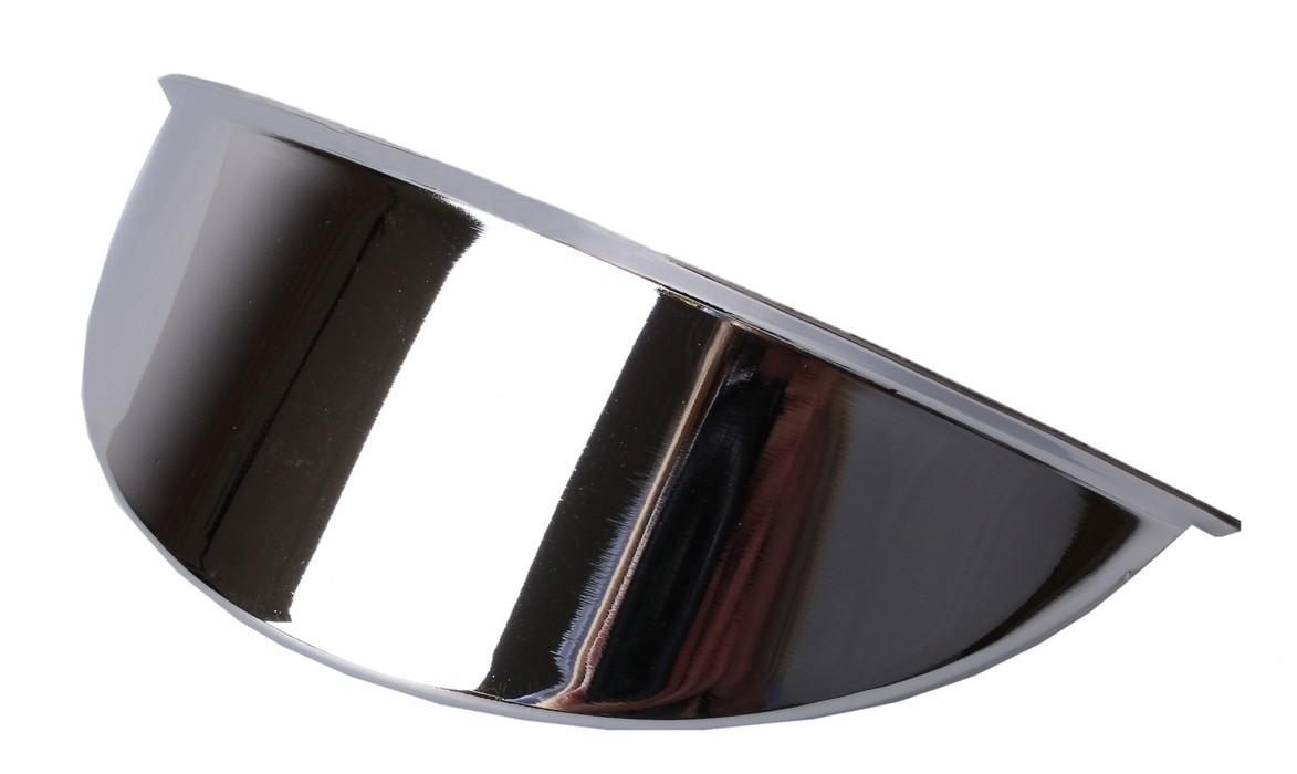 Štítek na světlo R-TECH chromový 111 mm