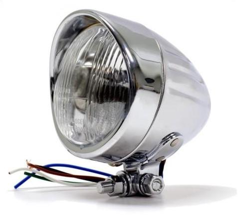 Přední přídavné světlo R-TECH Chrom