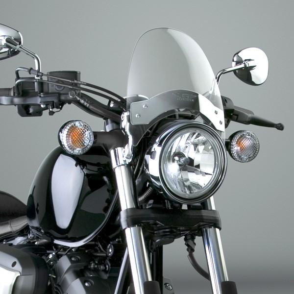 Plexi na moto R-TECH Suzuki - čiré