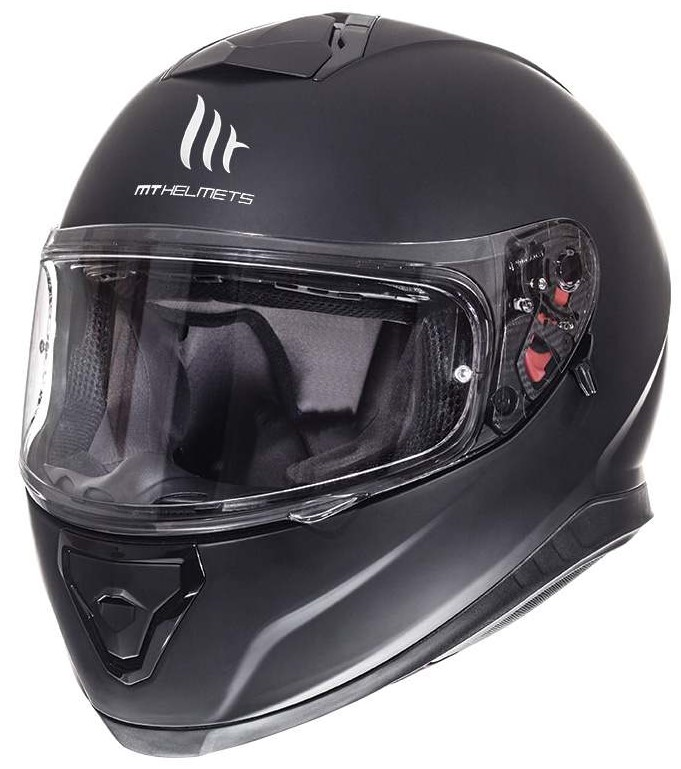 Integrální přilba na motorku MT Thunder 3 SV černá matná - II. jakost