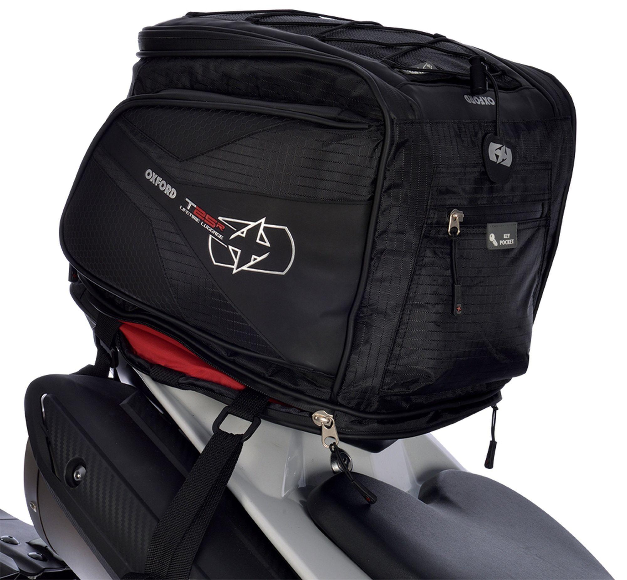 Brašna na sedlo spolujezdce Oxford T25R Tailpack černá