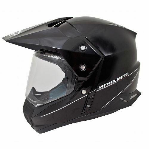 Enduro přilba MT Synchrony Duosport SV černá