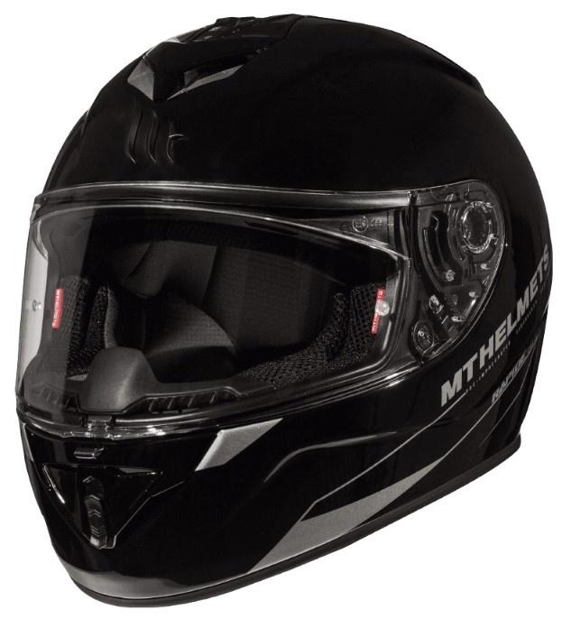 Integrální přilba na motorku MT Rapide černá