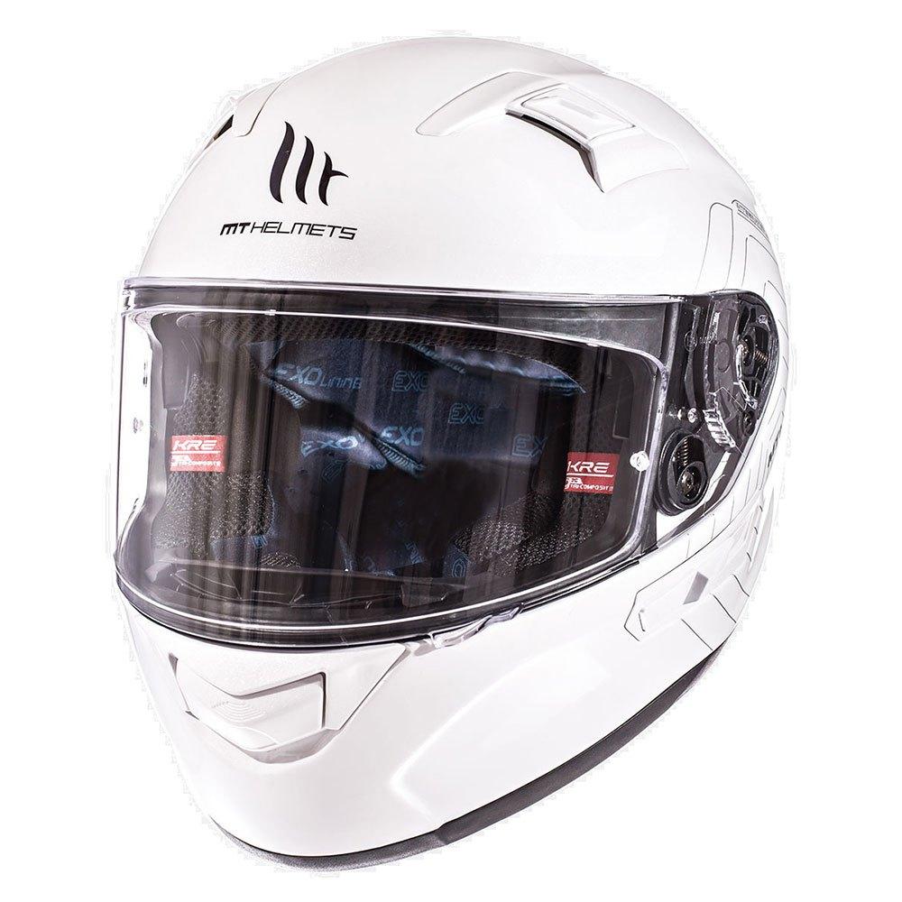 Integrální přilba na motorku MT Kre SV bílá