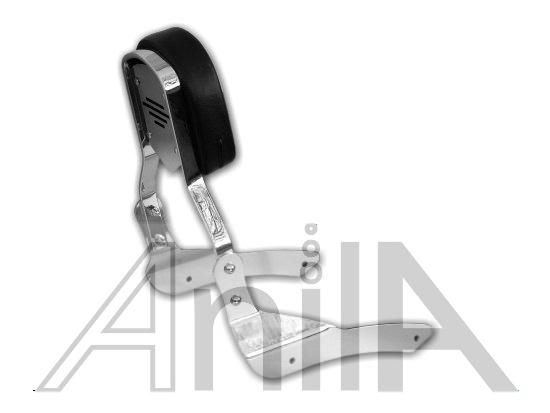 Opěrka spolujezdce - Yamaha Drag Star 650