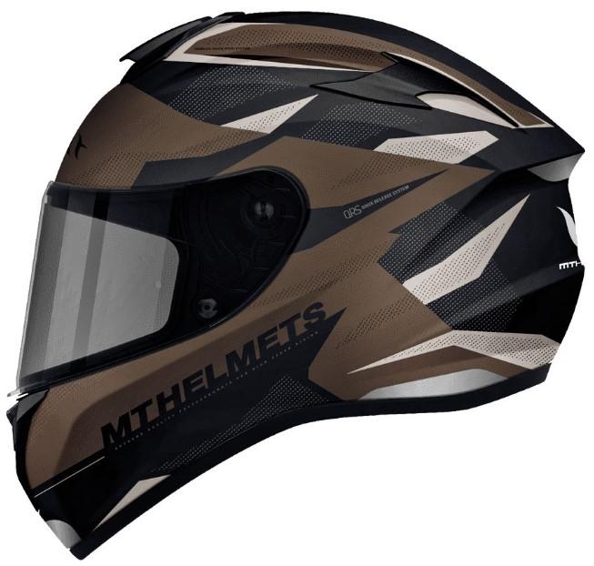 Integrální přilba na motorku MT Targo Enjoy černo-hnědá