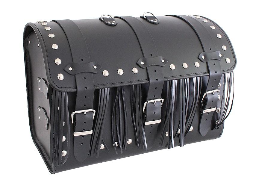 Kožený moto kufr na motorku Chopper RSA-7C