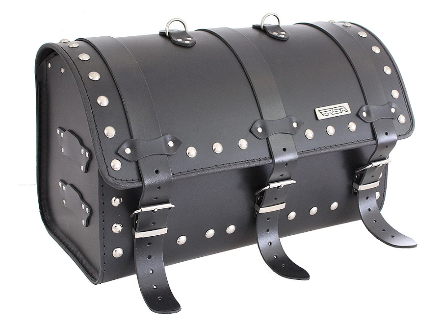 Kožený moto kufr na motorku Chopper RSA-13B