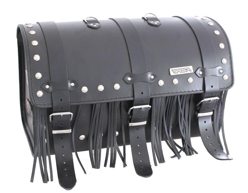Kožený moto kufr na motorku Chopper RSA-13C