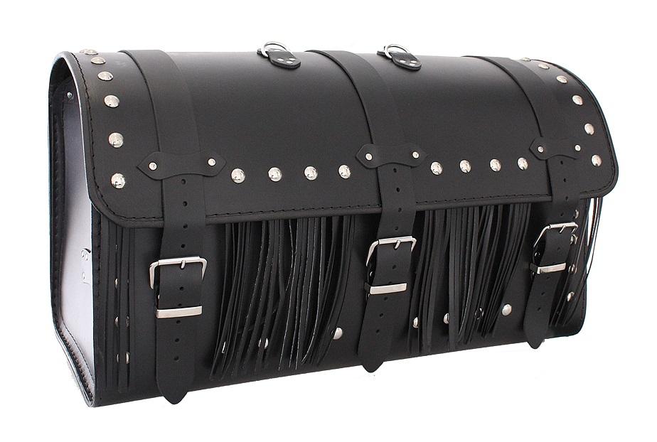 Kožený moto kufr na motorku Chopper RSA-8C