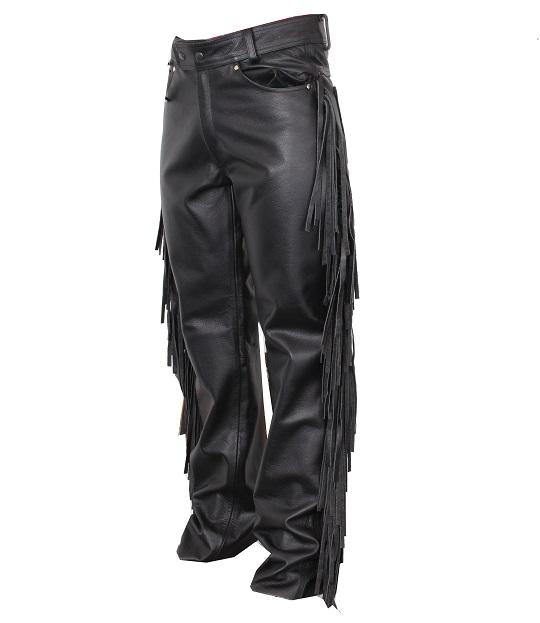 Kalhoty na motorku s třásněmi RSA  2ebecacc77d