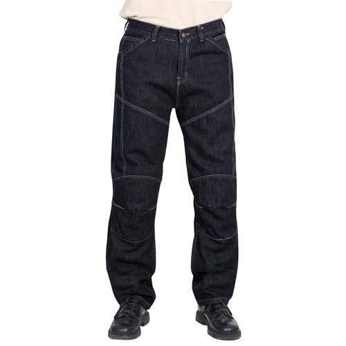 43179050e7a Kevlarové jeansy na motorku Roleff Jeans černé