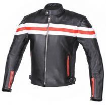 Kožená bunda na motorku RSA Lines výprodej 9bcd1da10f