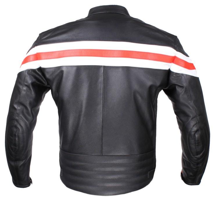 587af40c7db ... Kožená bunda na motorku RSA Lines výprodej ...