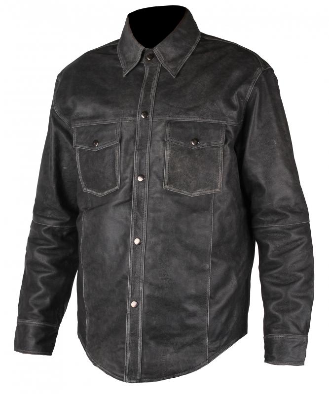 Kožená košile Elegant výprodej  722f1f5aa70